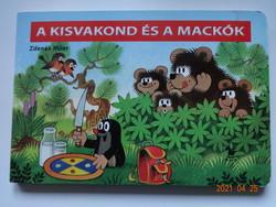 Zdenek Miler: A kisvakond és a mackók - kemény lapos mesekönyv, lapozó