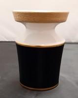 Kézzel festett porcelán váza (Echt Kobalt)