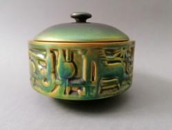 Zsolnay modern bonbonier, Mosonyi Attila (1969). 14*11 cm