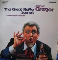 Gregor József:The Great Buffo Scenes bakelit lemez