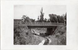 Sopron Ikva patak Patak utcai híddal