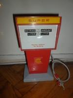 Régi játék shell üzemanyag kút