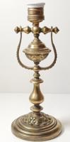 Antik réz billenő lámpa / asztali - hajó lámpa