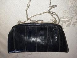 Gyíkbőr női táska