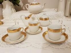 Jelzès nèlküli porcelàn baba méretű teàs kèszlet