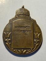 INTÉZETKÖZI SPORTVERSENYEK 1936-37 Hadi puska