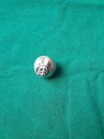 Antik Ezüst pityke gomb fellelt állapotában.