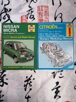2db Haynes album :Nissan Micra, Citroën Visa