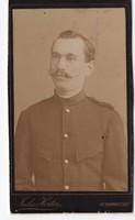 Nagyszebeni pénzügyőr 1886 (eredeti fotó)