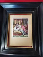 Pajzán litografia az 1890-1900 évekből!!!!