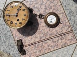 Junghans komplett fali óra szerkezet inga,hangrúd !