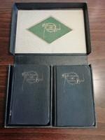 Ritka keresztény német imakönyvek, díszdobozban