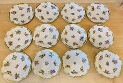 Herendi VBO Viktória 12 db süteményes tányér