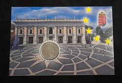 Római szerződés... 50 Forint 2007, elsőnapi veret.