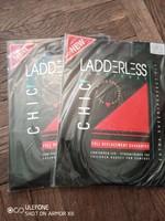 Két darab barna Ladderless XXL-es méretű harisnyanadrág