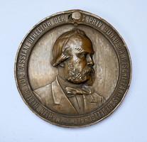 Martin Ritter von Cassian,a Duna Gőzhajózási Társaság vezérigazgatója 1877