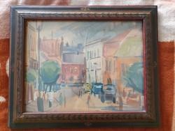 Orosz István akvarell festmény eladó