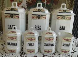 Régi fűszertartók MZ