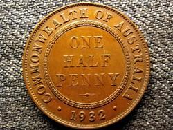 Ausztrália V. György 1/2 Penny 1932 (id49220)