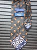 """Extravagáns """"KENZO HOMME"""" luxus márka, kézzel készített XX. sz-i nyakkendő, Designer férfi öltözet"""