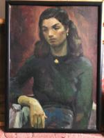 Simó István - Ismeretlen nő portréja