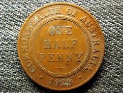 Ausztrália V. György 1/2 Penny 1928 (id49219)