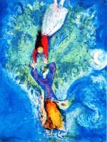 Marc Chagall - Mese illusztráció - litográfia