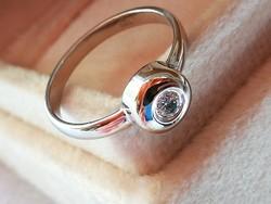 Button arany gyűrű (14k)