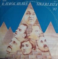 Rádiókabaré-Sikerlista 87' bakelit lemez