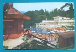 Románia,Szováta üdülőváros,képeslap 1983,,futott