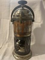 Antik olasz kávéfőző Petróleumos