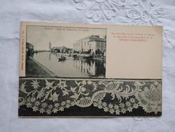 FOGLALT MARIANNA részére Antik olasz képeslap Burano csipkeiskola 1910 körüli darab