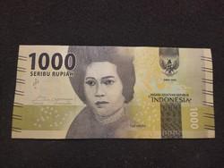 Indonézia 1000 Rúpia.  Hajtatlan 2016