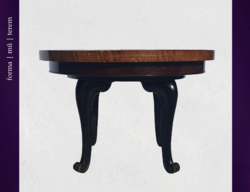 Barokk körasztal