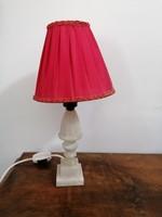 Alabástrom asztali hangulat lámpa