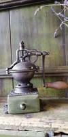 Kávé daráló, szatócsbolti öntöttvas daráló, Peugeot daráló