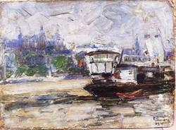 Gyimesi porridge ernő: steamboat on the Danube