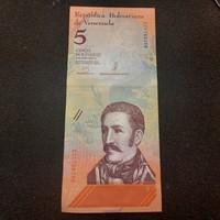 Venezuela 5 Bolivár