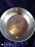 Antik ezüst baba tányérka (tálka) 800-as (Diana)