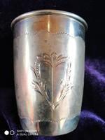 Ezüst 800-as (Diana) keresztelő pohár