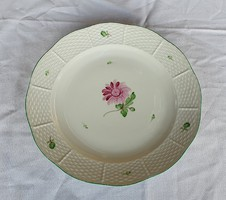 Herendi Tertia őszirózsás lapos tányér