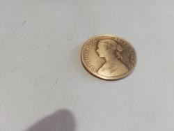 2 darab régi ritka 1930 as és 1922 es angol penny eladó 8000ft