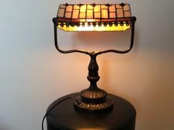 Tiffany asztali banklámpa