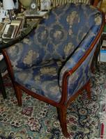 Art deco stílusú fotel
