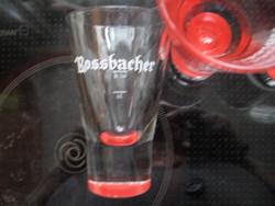 Rossbacher különleges gyógyfüves likőrös pohár