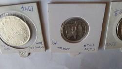 1974 1927 1946 os ezüst pénzek eladók egyben 12200