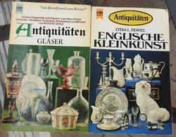 Antiquitaten / Englische Kleinkunst - német nyelvű művészeti könyvek
