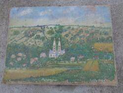 Antik festmény - Máriagyűd