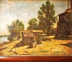GACHAL JÓZSEF 1889 - 1974 EÖLVEDY: Halászok