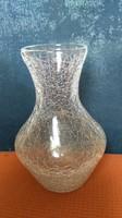 BAUHAUS WMF IKORA CRACELE -GLAS  váza  OLCSÓN ELADÓ GYÚJTEMÉNY FELSZÁMOLÁS OKÁN!